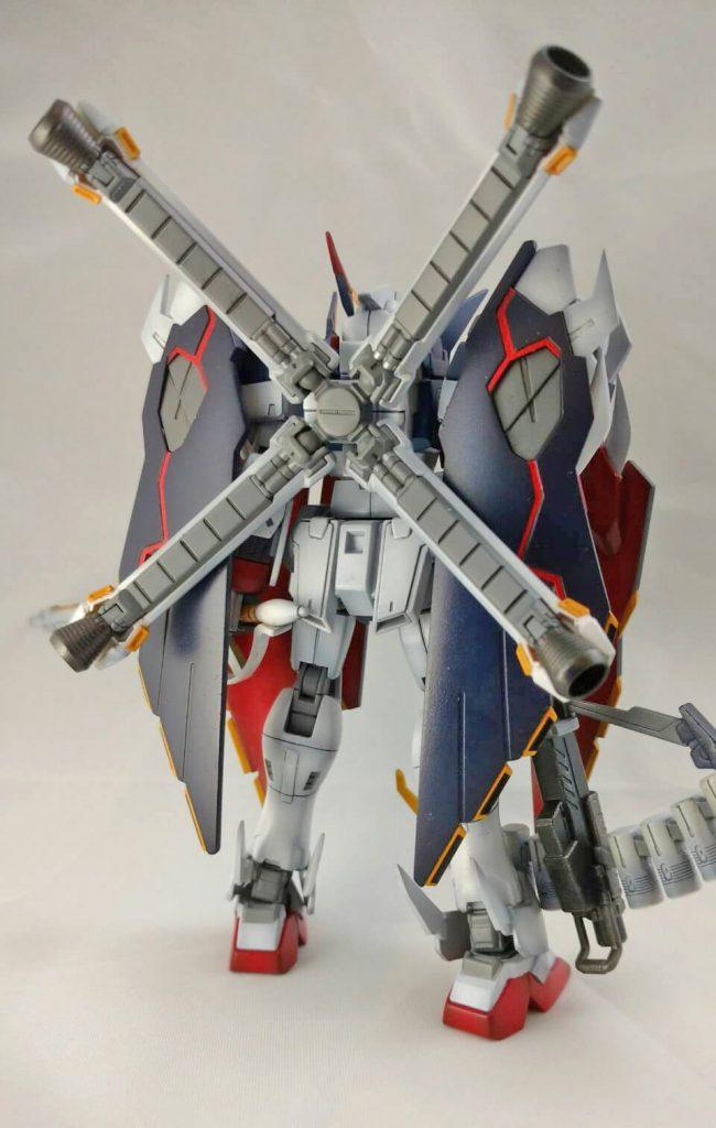 クロスボーンガンダムX1フルクロス アピールショット2