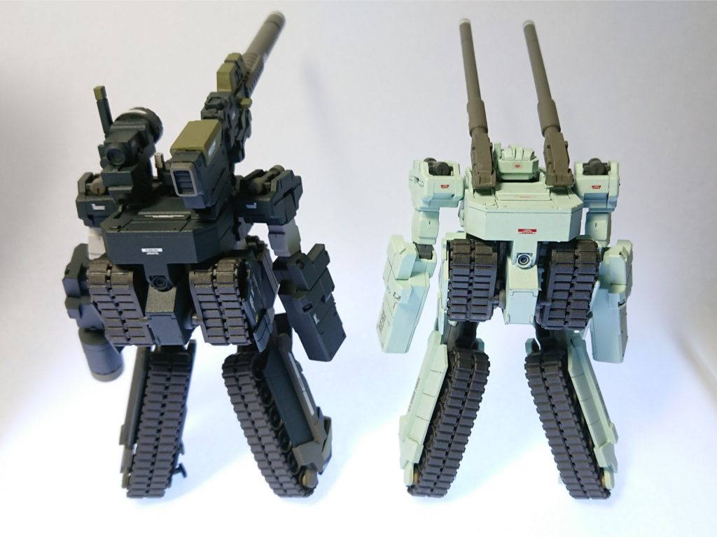 ロト twin set 連邦カラー&超長距離狙撃仕様 制作工程4