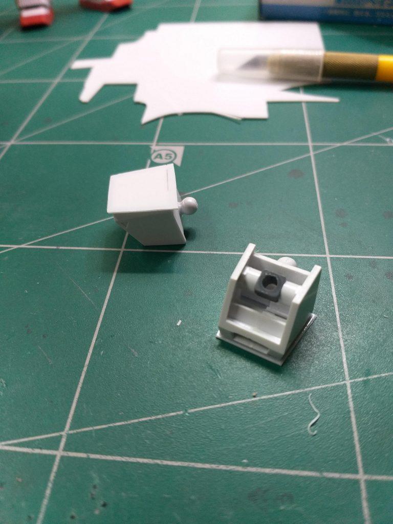 ほぼほぼマボロシのジムⅡ ティターンズカラー 制作工程2