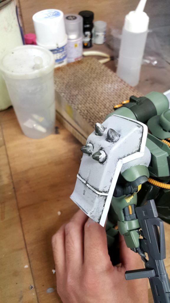 MG ギラドーガ 制作工程4