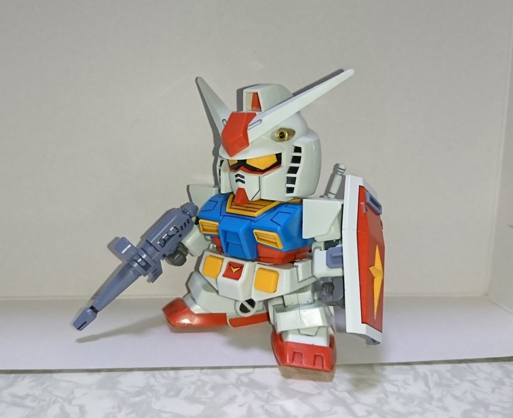 BB戦士No.329 RX-78ガンダム アピールショット2