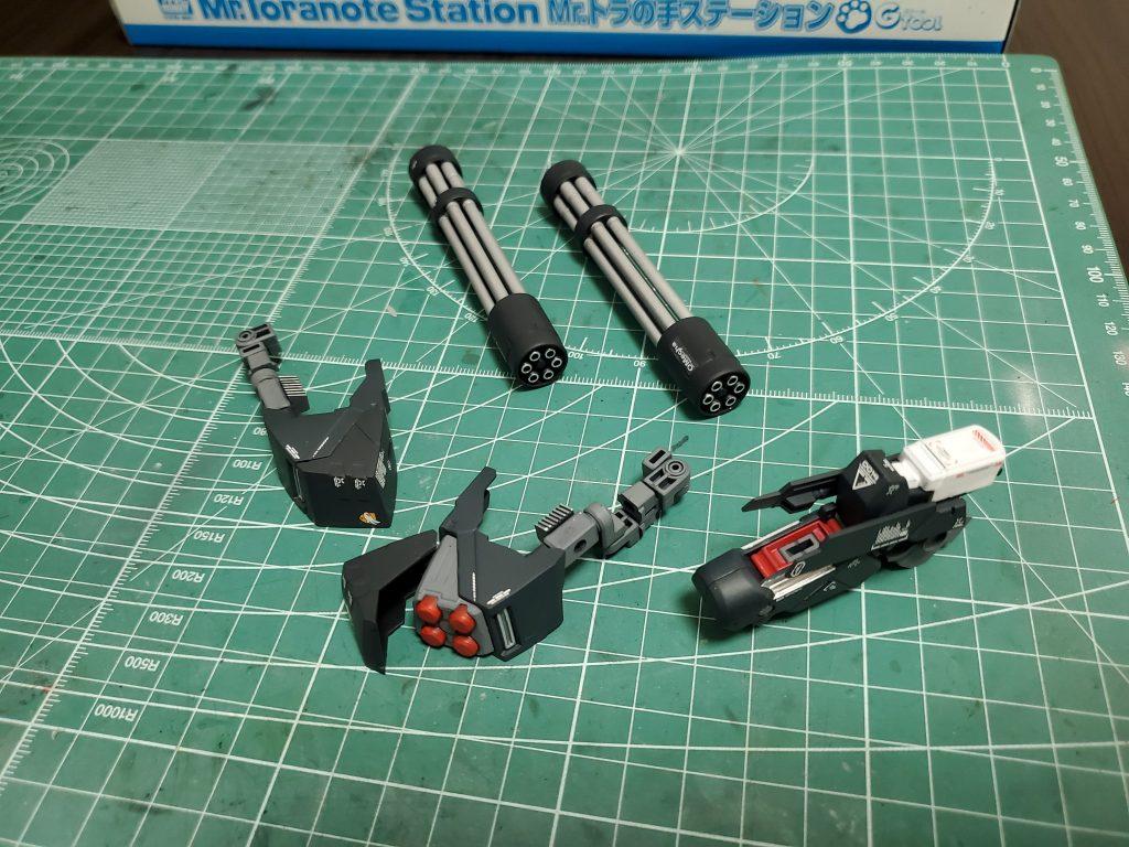 TR-6【ジ・OⅡ】 制作工程3