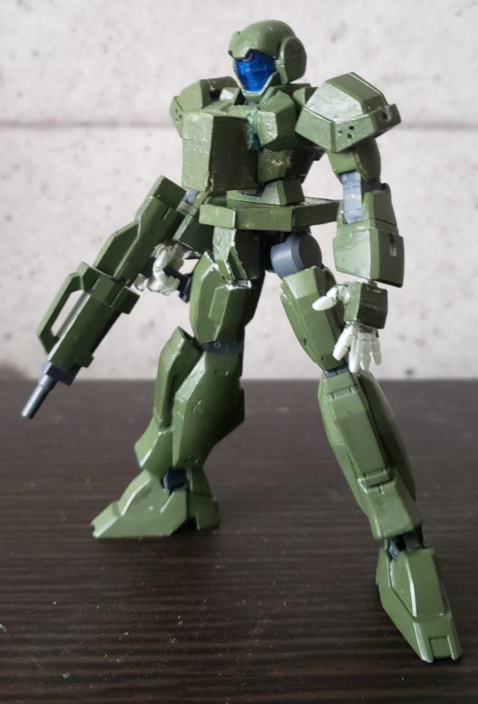 アデル(99式空挺レイバー風) 制作工程1