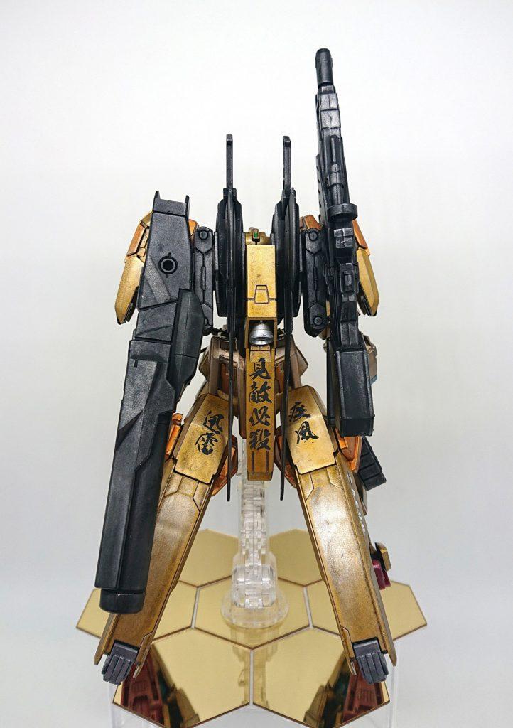 フルアーマー百式 (アヴァランチユニット装備) アピールショット2