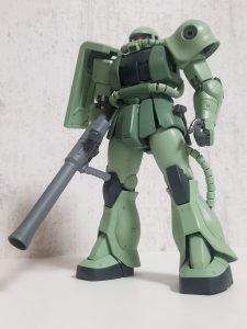 MG MS-06『C』ver.2.0ザクⅡ 黒い三連星仕様