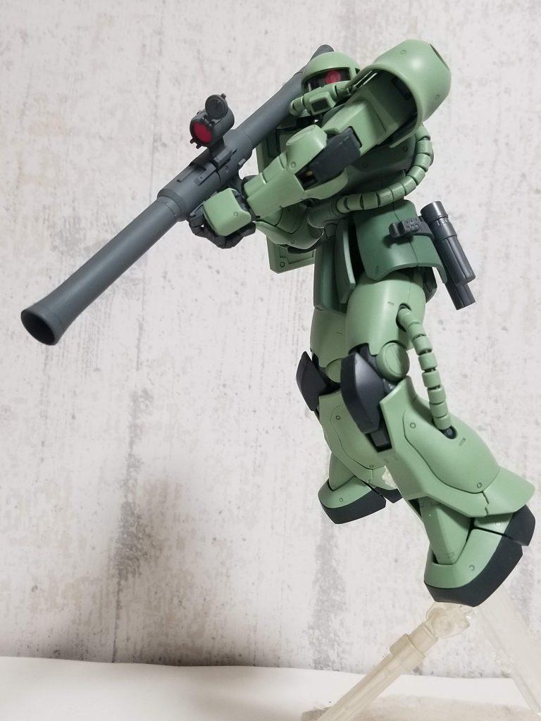 MG MS-06『C』ver.2.0ザクⅡ 黒い三連星仕様 アピールショット3