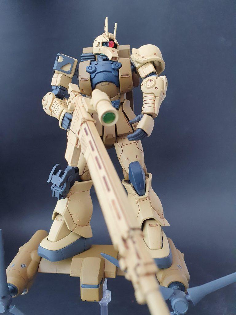 Zaku1 Sniper Type(ver.Origin) 制作工程1
