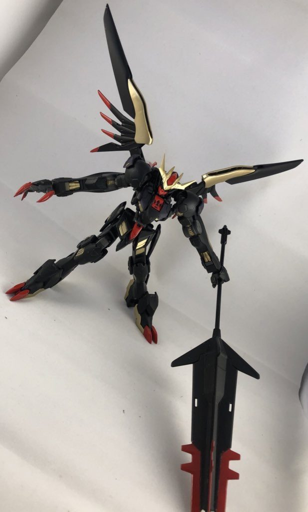 鉄華団の黒き悪魔 アピールショット2