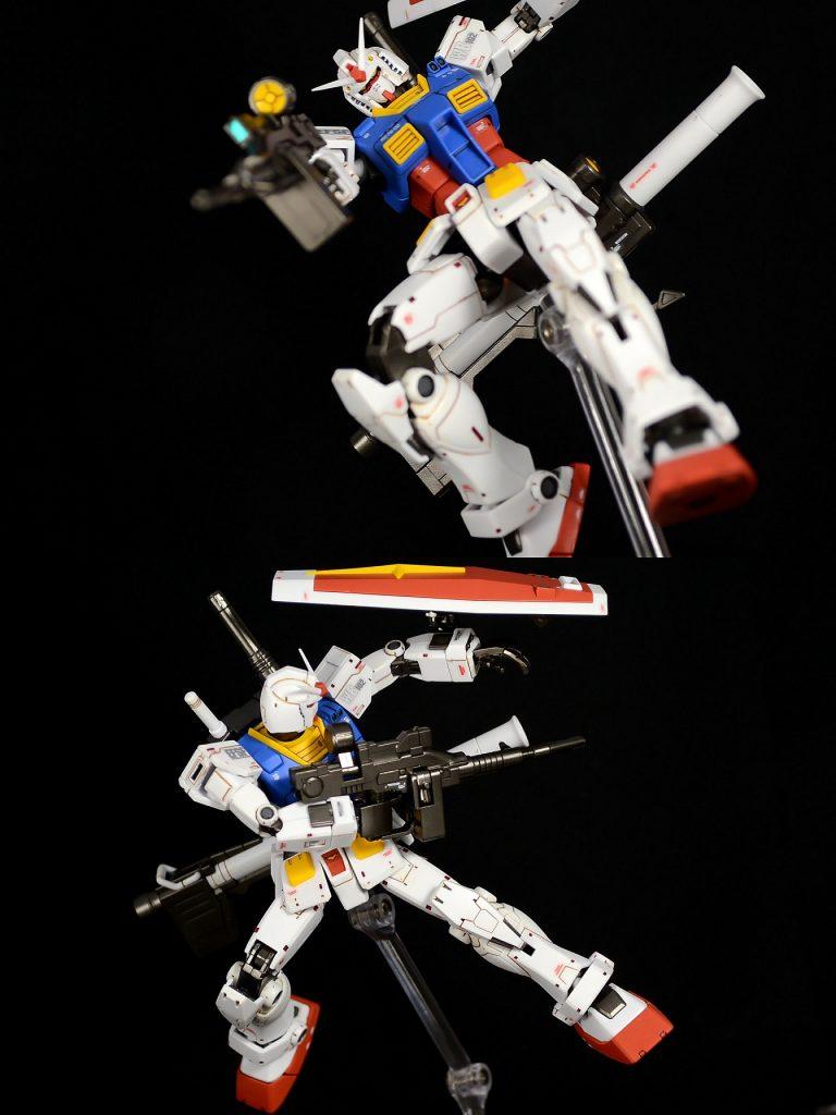 HG RX-78-02ガンダム(GUNDAM THE ORIGIN版) アピールショット5
