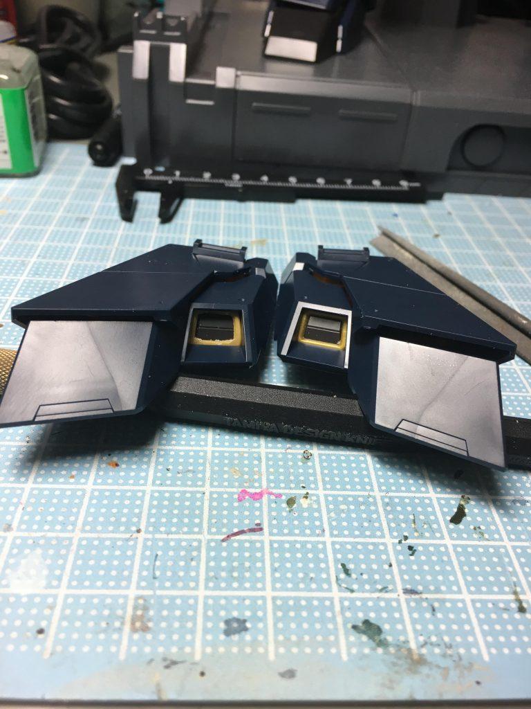 ユニコーンガンダム2号機バンシィ 制作工程3