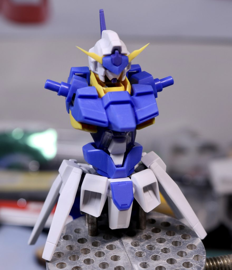 ガンダムAGE FX-AURORA- 制作工程1