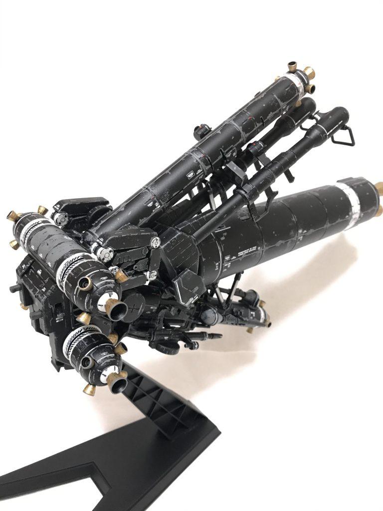 MG  サイコザクver.KA ウェザリング 制作工程2