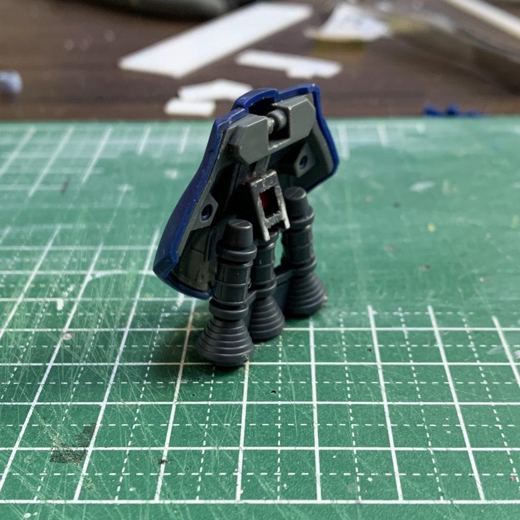 ギャン 宙間機動試験機 (リック・ギャン) 制作工程1