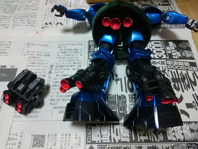 MGガトー専用ゲルググ1.0【コーティングver】 制作工程6