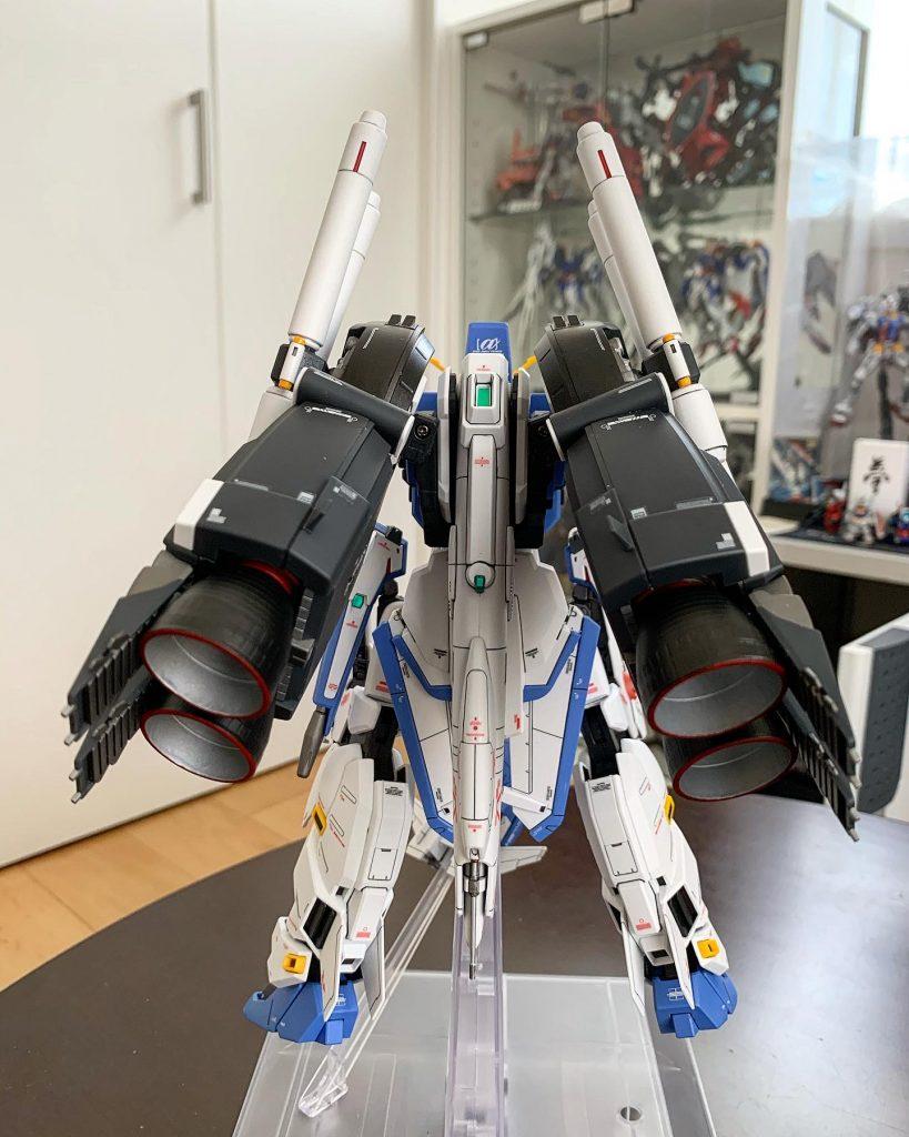 MG Ex-Sガンダム 制作工程2