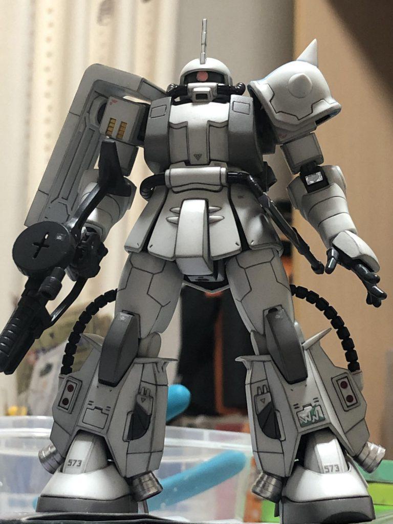 HGUC MS06R-1A ZAKUⅡ アピールショット1