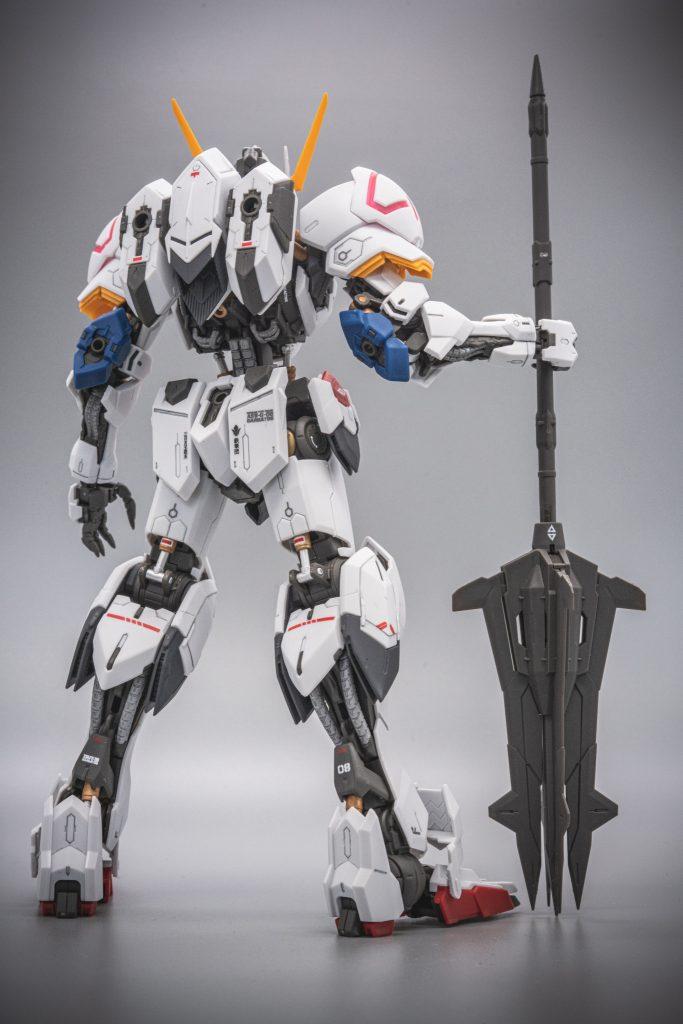 MG ガンダムバルバトス 制作工程4