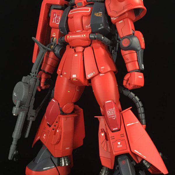 MG MS-06R-2 ZAKUⅡ 【真紅の稲妻】