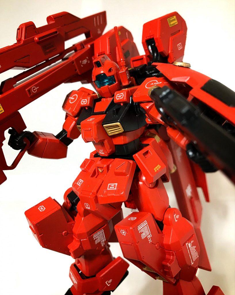 【HG】RX-121-00 RGM TR-1 【michibon CUSTOM】 アピールショット1