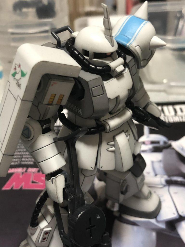 HGUC MS06R-1A ZAKUⅡ アピールショット2