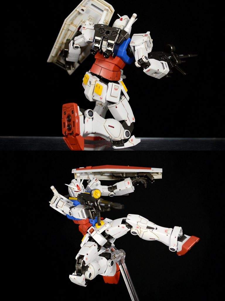 HG RX-78-02ガンダム(GUNDAM THE ORIGIN版) 制作工程1