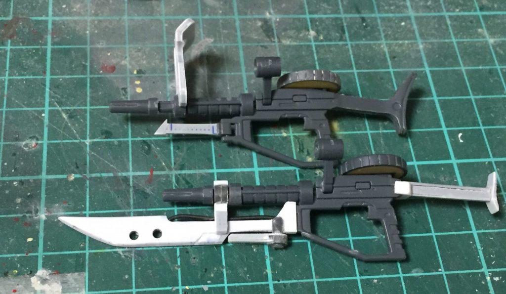 ザクⅡFS型 制作工程4