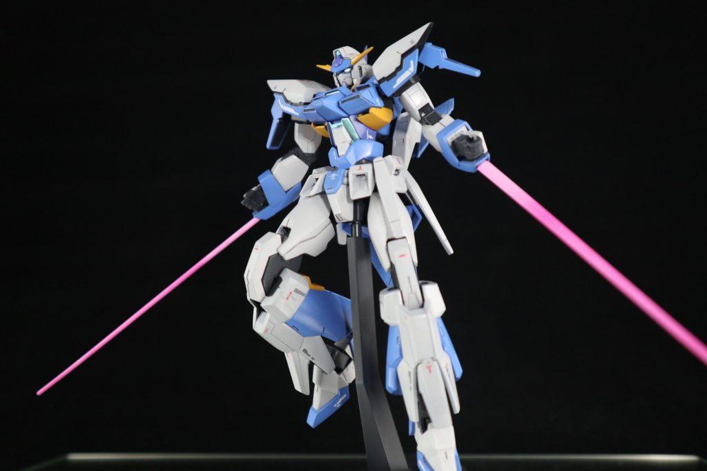HG ガンダムAGE-FX アピールショット2
