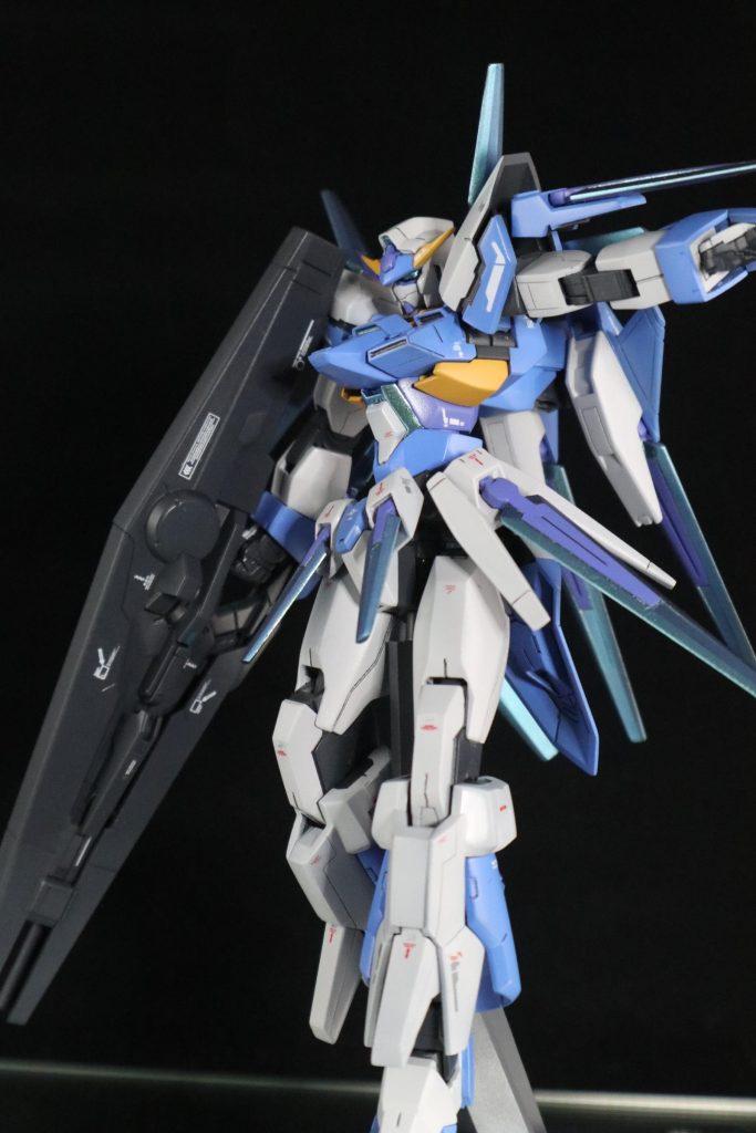 HG ガンダムAGE-FX アピールショット8