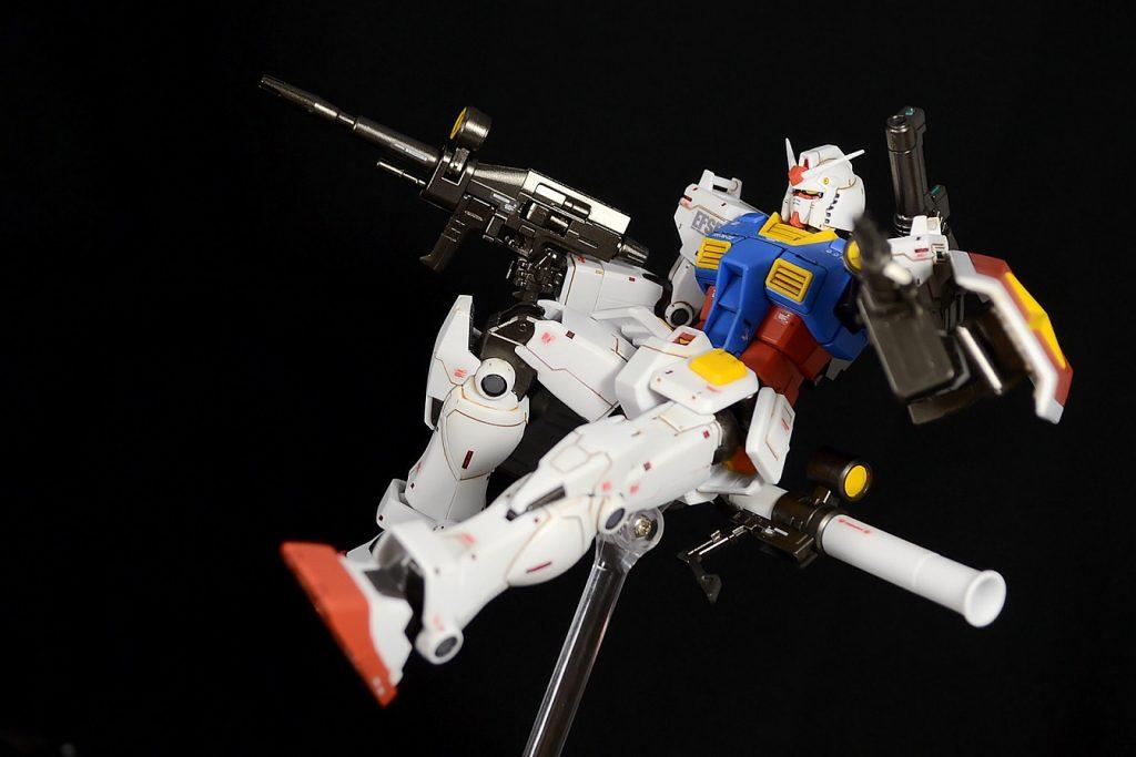 HG RX-78-02ガンダム(GUNDAM THE ORIGIN版) 制作工程6