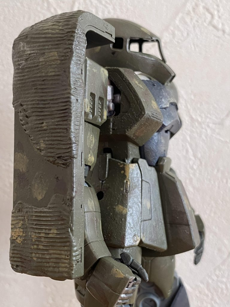 MG 旧ザク MS-05 アピールショット2