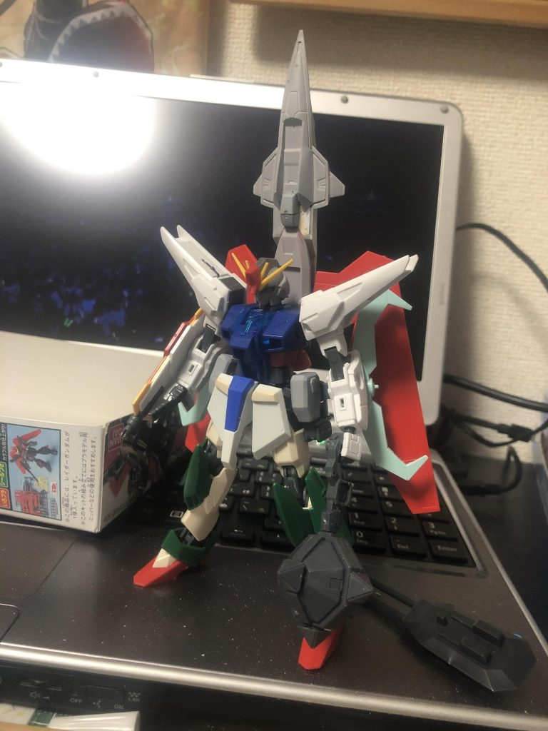 GAT-X370 レイダーガンダム アピールショット3