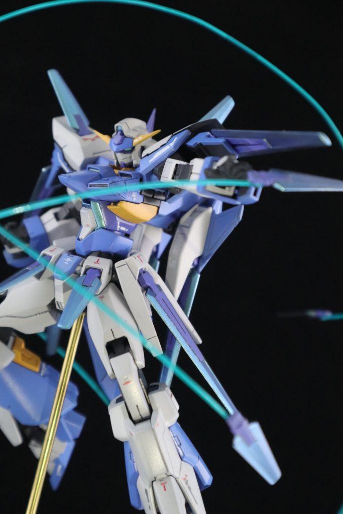 HG ガンダムAGE-FX 制作工程2