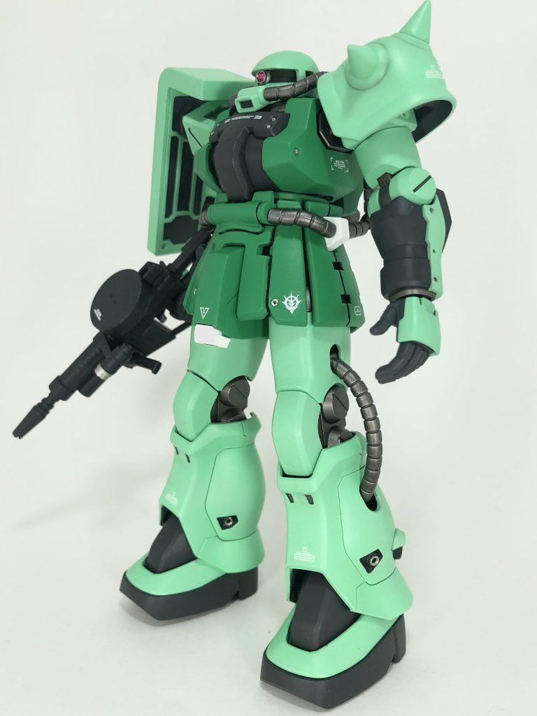 HG ザクIIF2 アピールショット1