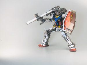 HG ガンダム オリジン版イラスト風塗装