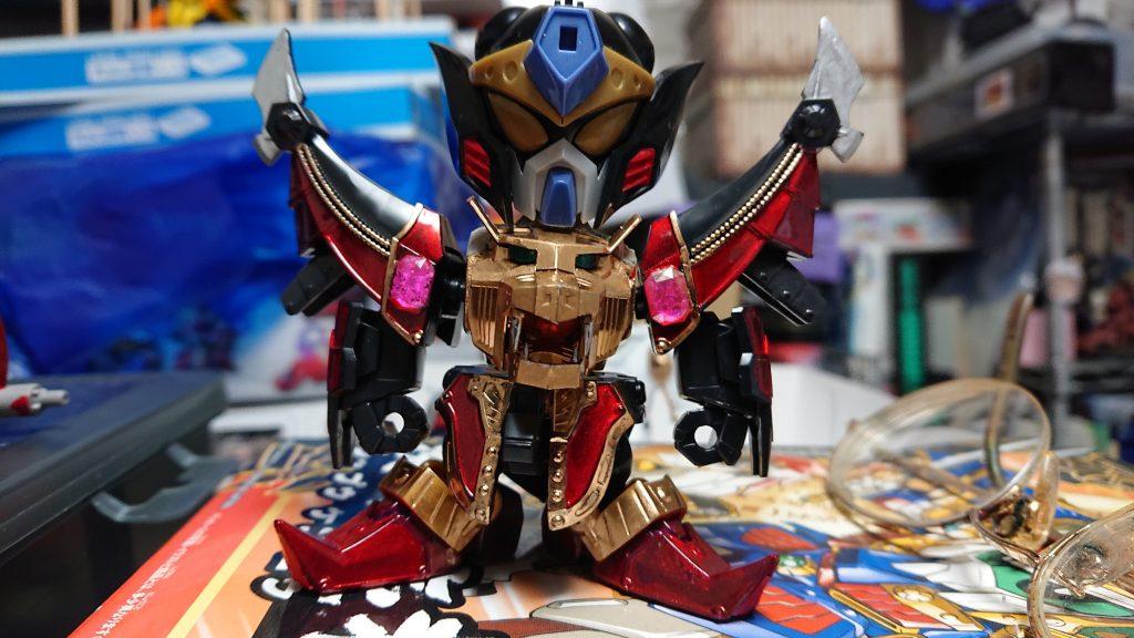 神官騎士ガンキラー 制作工程1