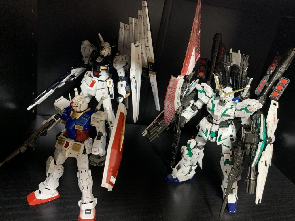 HG 1/144 RX-78-02 ガンダム(GUNDAM THE ORIGIN版) アピールショット1
