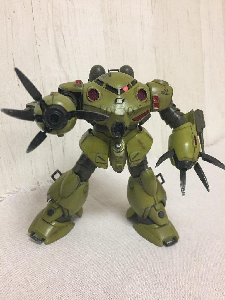 ズゴックE(緑) アピールショット1