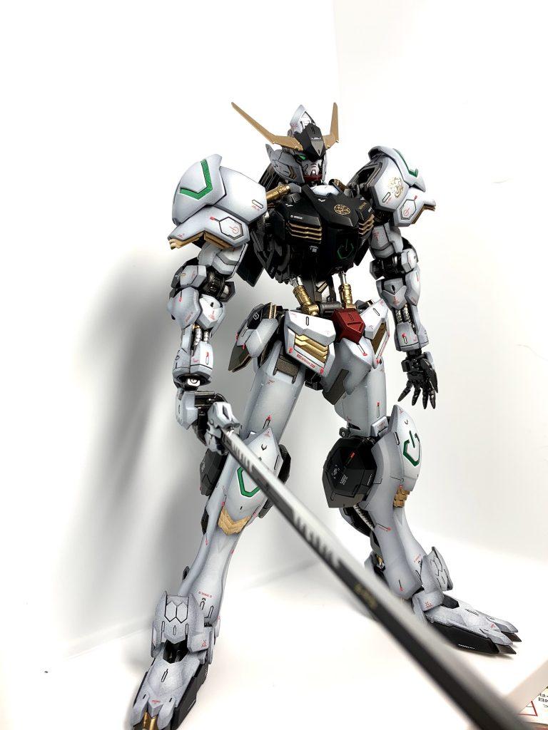 【馬琉刃都主】バルバトス【Iron Breathing】 制作工程6