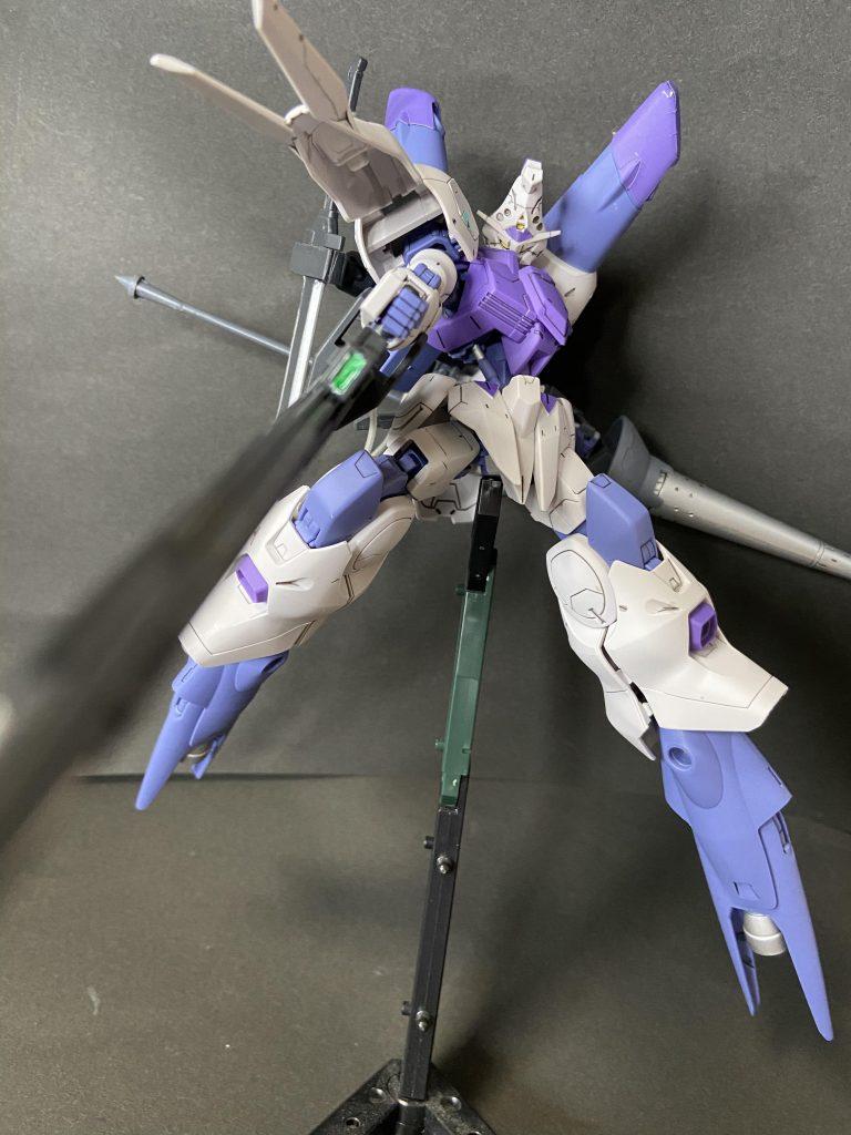 ガンダムフレーム・キマリス 武装試験装備 アピールショット3