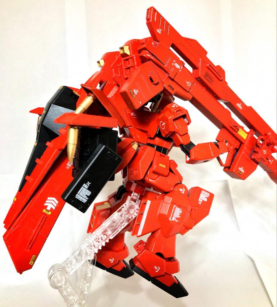 【HG】RX-121-00 RGM TR-1 【michibon CUSTOM】 アピールショット4