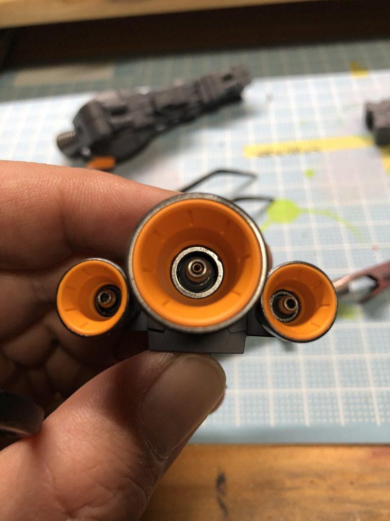 MG ジェガン 制作工程2