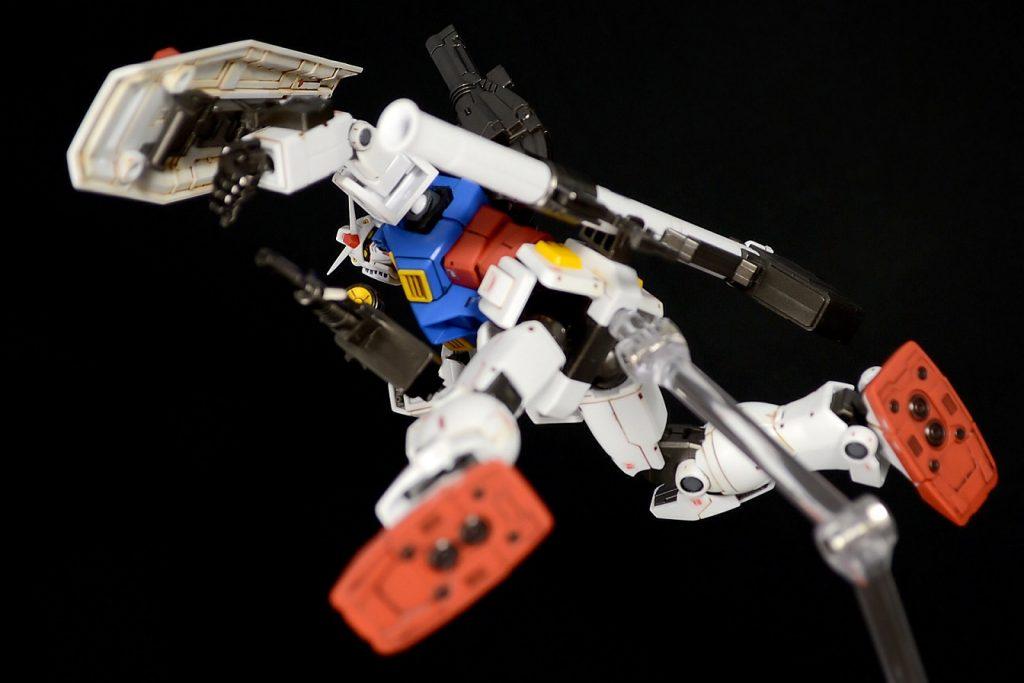 HG RX-78-02ガンダム(GUNDAM THE ORIGIN版) アピールショット6