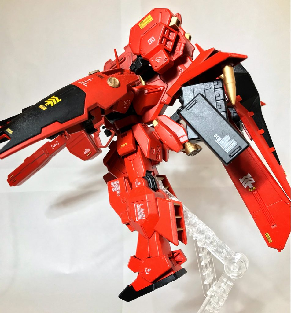 【HG】RX-121-00 RGM TR-1 【michibon CUSTOM】 アピールショット2