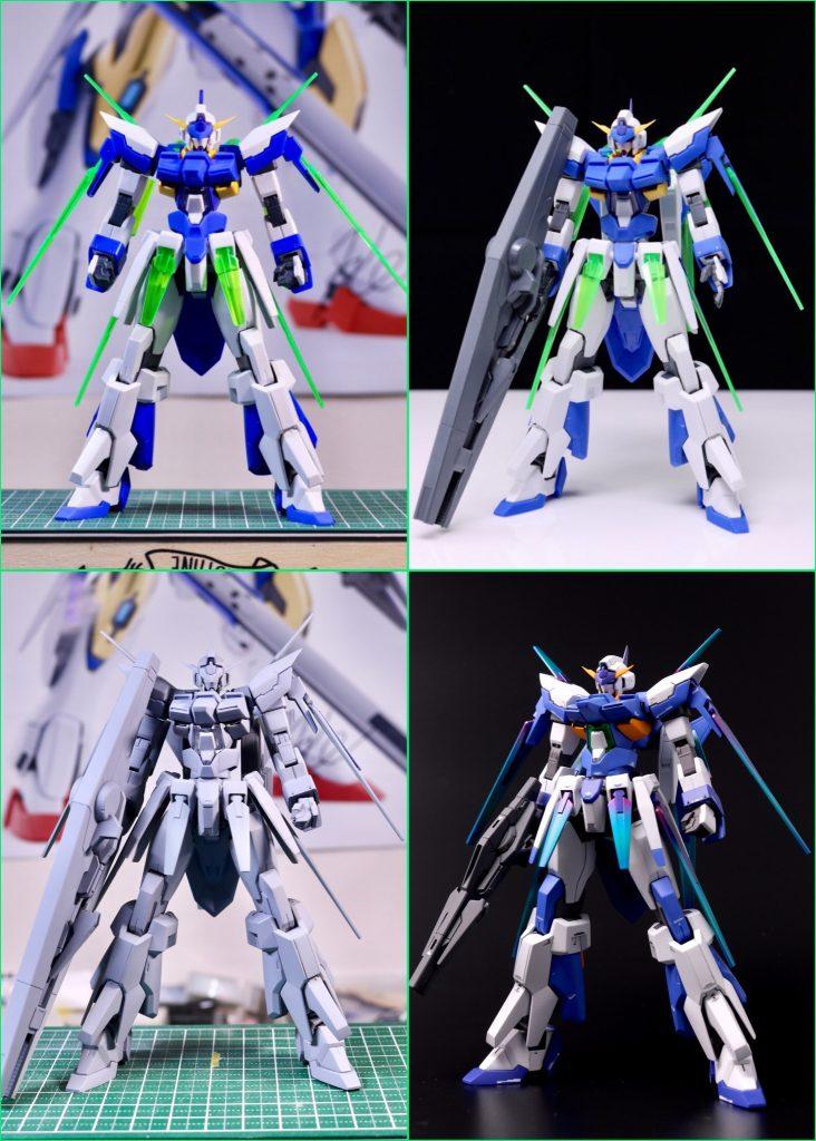 ガンダムAGE FX-AURORA- 制作工程3