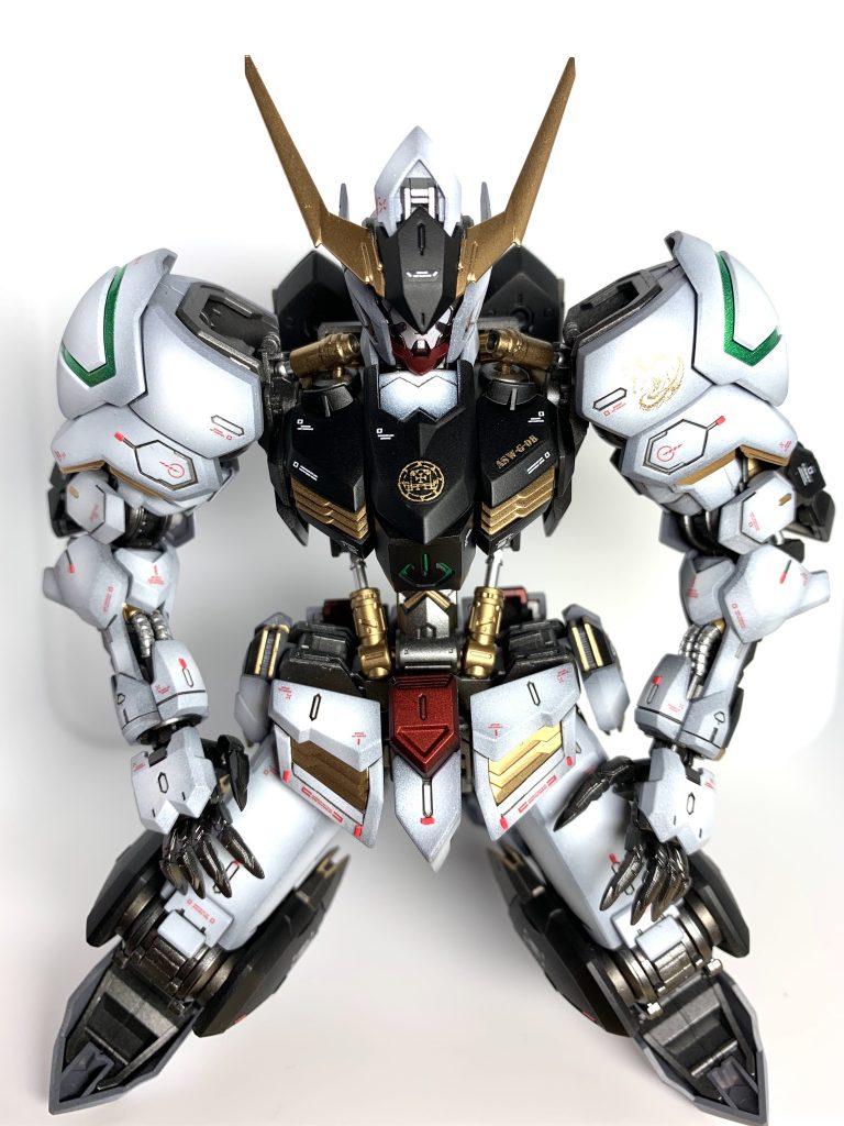 【馬琉刃都主】バルバトス【Iron Breathing】 制作工程8
