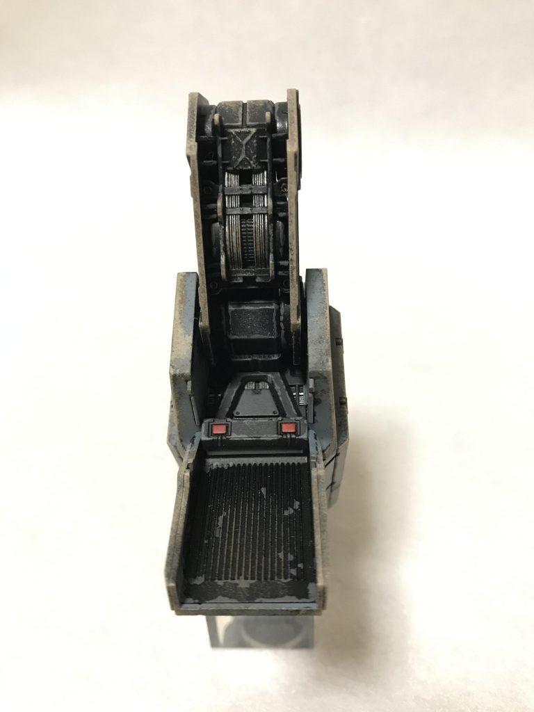 1/35 U.C.ハードクラフトシリーズ 地球連邦軍対MS特技兵セット ウェザリング アピールショット5