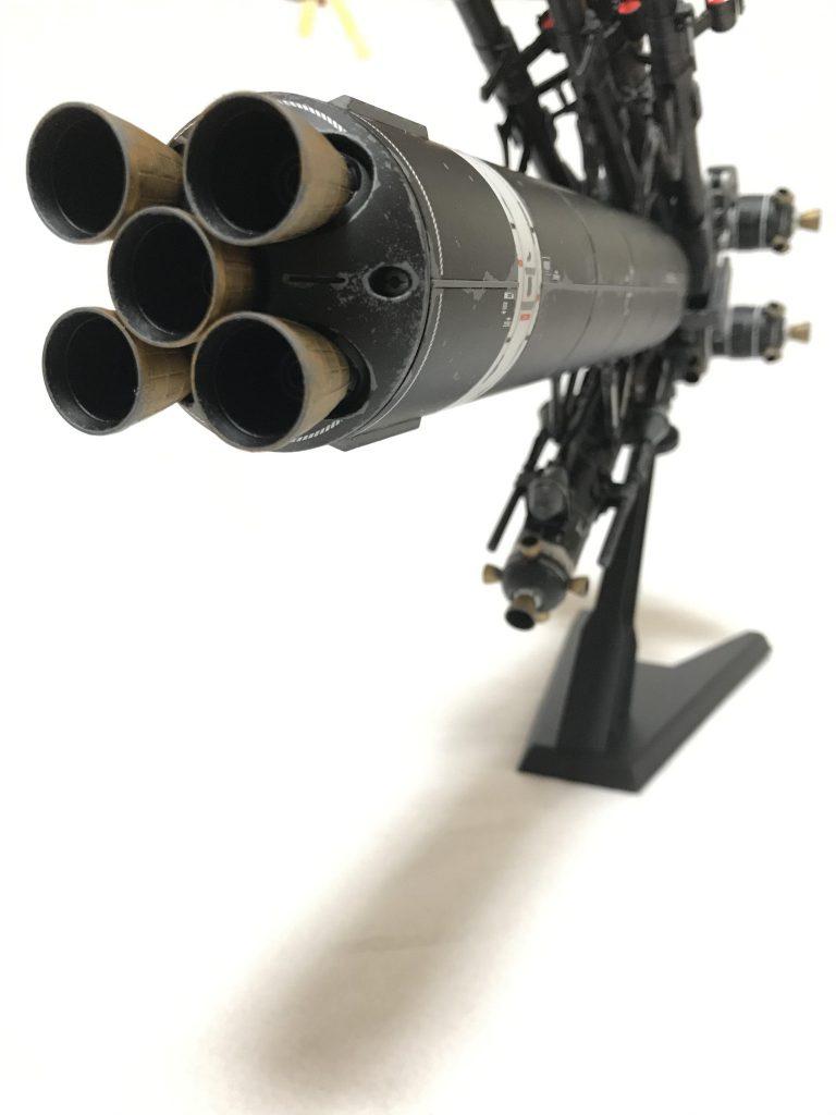 MG  サイコザクver.KA ウェザリング 制作工程5