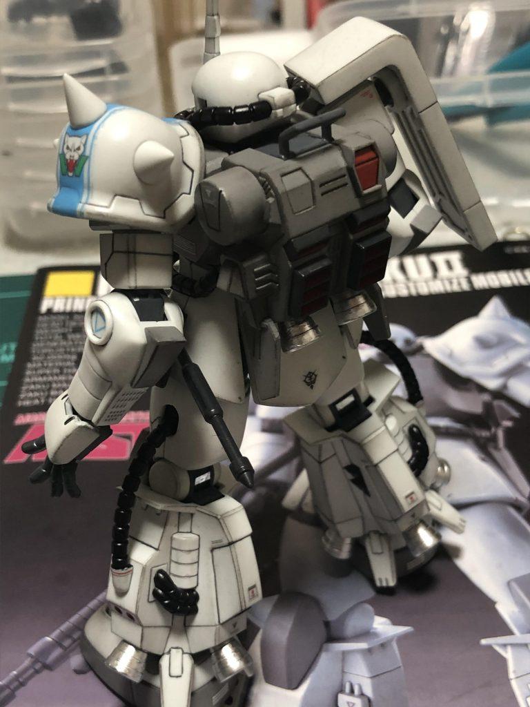 HGUC MS06R-1A ZAKUⅡ アピールショット4