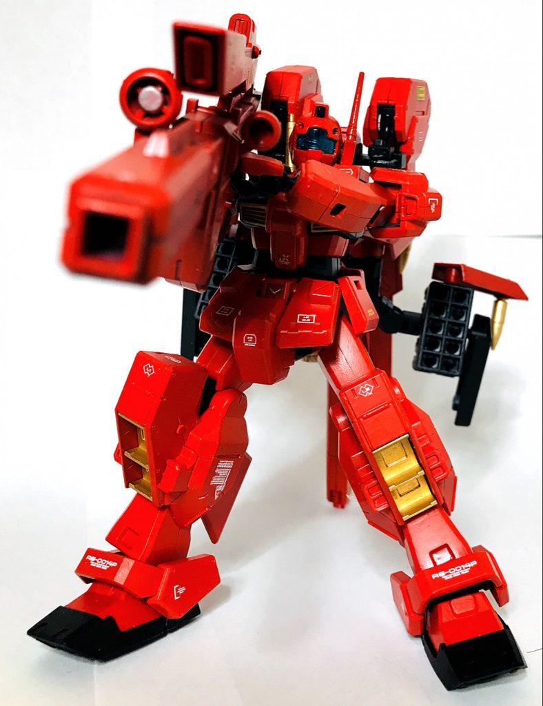 【HG】RX-121-00 RGM TR-1 【michibon CUSTOM】 制作工程3