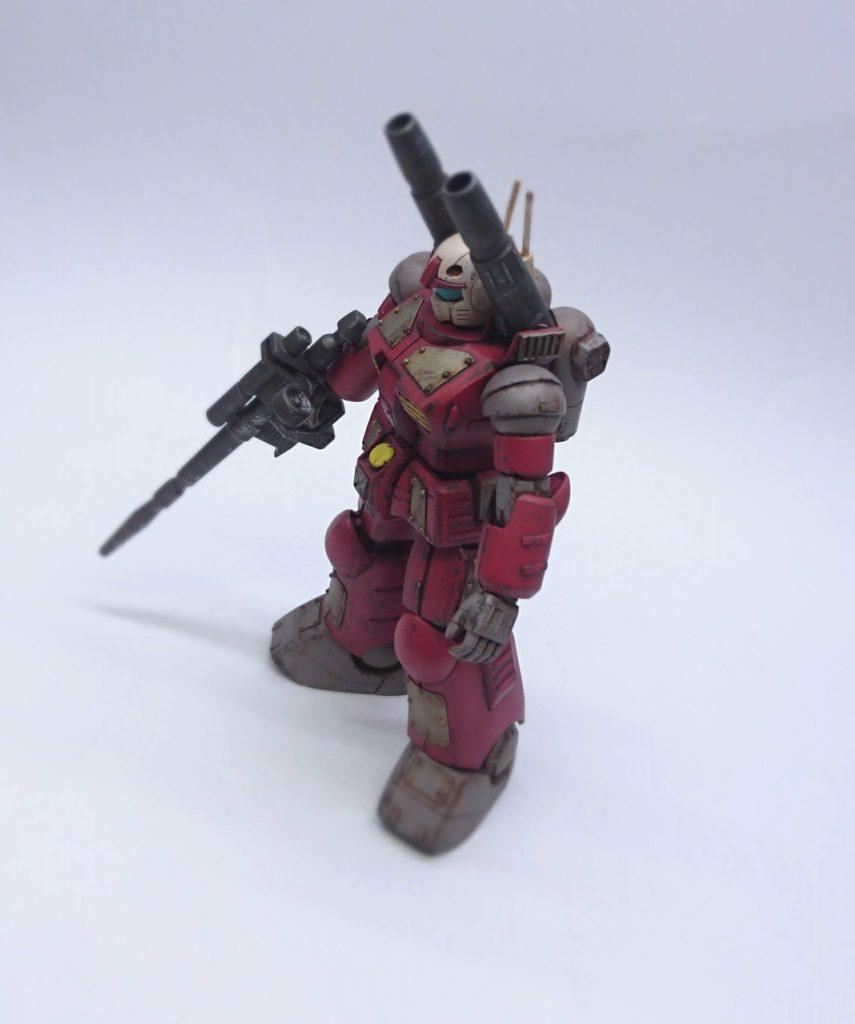 ガンキャノン 鉄板カスタム アピールショット3
